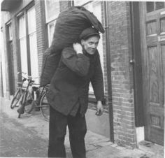 the 'Kolenboer' (Coal Man) annex 'Gasoline Man Rotterdam, Utrecht, Awsome Pictures, Old Pictures, Robert Doisneau, Beyond Good And Evil, My Childhood Memories, Back In The Day, Retro