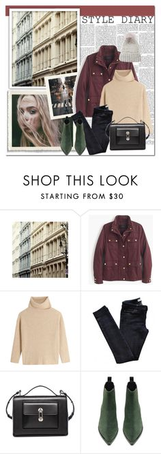 """""""Style Diary"""" by easewithabigail on Polyvore featuring J.Crew, Maje, Vanessa Bruno Athé, Balenciaga, Acne Studios and Eugenia Kim"""