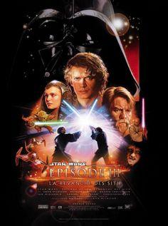 Affiche du film Star Wars épisode III : la revanche des Sith