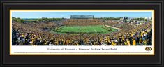 Missouri Tigers Football Panoramic - Faurot Field Picture $199.95