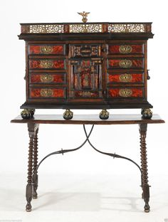 Raro Monetiere/Cabinet Italiano del 700 Sec.XVIII 176cm x 140cm x 50cm | eBay