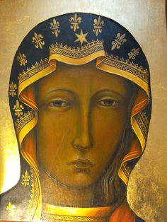 I Love You Mother, Mother Mary, Religious Icons, Religious Art, Anima Christi, Our Lady Of Czestochowa, Medieval Tapestry, Byzantine Icons, Art Thou