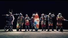 CUPNOODLE - SAMURAI CM カップヌードルCM 「7 SAMURAI 篇」 120秒