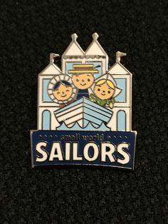 Disney Mascots - Disneyland series It's a Small World Sailors pin. 1 of 16
