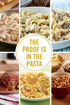 Short-cut your way to six of the best pasta recipes with flavorful seasoning mixes. Tear open a packet and add a delicious blend of herbs and spices into your dish for restaurant-quality Alfredo, carbonara, scampi and more! Best Pasta Recipes, Entree Recipes, Dreamfields Pasta, Recipe Mix, Pasta Noodles, Scampi, Seasoning Mixes, One Pot Meals, Casseroles