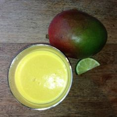 nutiva.com - Put the Lime in the Coconut & Mango Smoothie! #healthy #smoothie