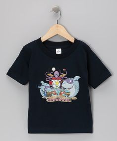 Take a look at this Airwaves Navy Shark Rock Band Tee - Toddler & Kids by Airwaves on #zulily today!