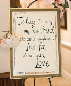 I would love something like this as a display at my wedding. So adorable.