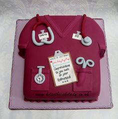 Nurse retirement cake by Helen The Cake Lady, via Flickr