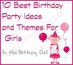 Check out the 10 best Birthday Party Ideas and Themes For Girls. Interesting Birthday party games can make your daughter's birthday a great hit. Birthday Party Games, Birthday Fun, Fun Games, Games To Play, Party Ideas, Game Ideas, Daughter Birthday, 9 Year Olds, Make It Yourself