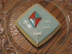 Kite Flying Sugar Cookies
