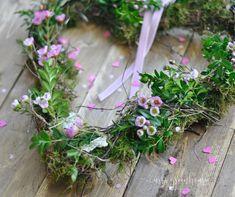 Ein zarter Frühlingskranz selbstgemacht - Mrs Greenhouse