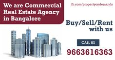 Property On Demand is a Bangalore, Karnataka Real Estate Broker dealing in Sale/Purchase and Rent/Lease of  Office Spaces, Apartments / Flats.