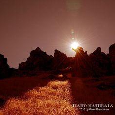 Sunrise in the desert. #landscape #nature #sunrise #desert #earth #rocks #amazing #scenery #spectacular #outdoors #adventure #hike #bike #climb #camp #backpack #travel #Idaho #wild #free #earthlandscape #earthpix #fantastic_earth #earthofficial #wonderful_places #in2nature #ourplanet #fantastic #earthfocus #awesome.pix
