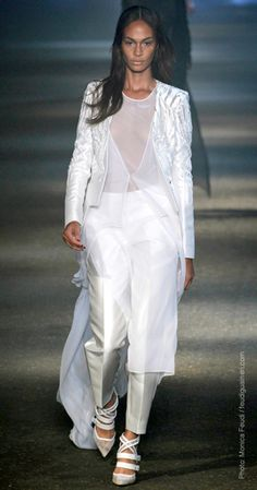 Spring 2013 Trend Reports VEILED LOOKS -Prabal Gurung