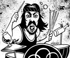 Craziest Drummers Ever - Ginger Baker Beware of Mr. Baker - Esquire