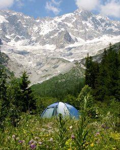 Camping des Glaciers, 1944 La Fouly, Val Ferret, Schweiz, Tel. 0041 27783 1826.