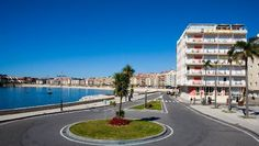 Hotel Rotilio in Sanxenxo, Rias Bajas, Galicia.  Will be staying there this summer, can't wait. Sanxenxo is lovely