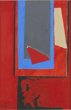 Robert Motherwell, 'Red Garden Window', 1977
