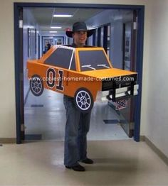 The General Lee - Dukes of Hazzard Halloween Costume for Teagan