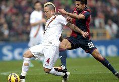 Genoa 0-1 Roma: Nainggolan the hero for Garcia's men