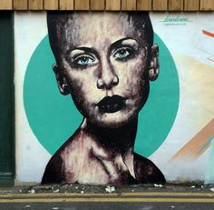 by Lowdown Art (close-up) - London, UK - June 2014