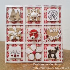 Arts & Eve: wonderful card with Marianne Design products