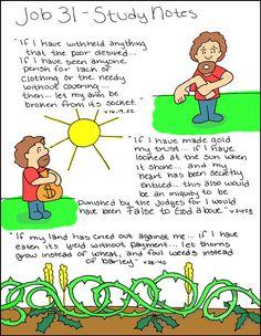 Doodle Through The Bible: Job 31