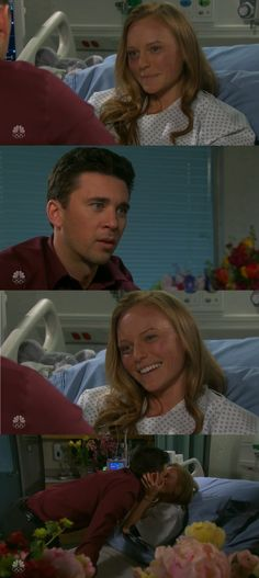 Abby Deveraux: I don't even know if we should live together right now. Chad DiMera: What do you mean? You don't want to live with me? *Abby smiles* Chad DiMera: What's that? What are you doing? Why are you smiling? You're breaking my heart and you're gonna just laugh in my face? Abby Deveraux: Chad DiMera, come on. Please don't tell me you've lost your sense of humor. Of course, I will marry you. #Chabby