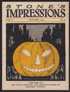 Stone's Impressions-1913-Halloween-JOL-Cat-Printing and Manufacturing Co-Roanoke