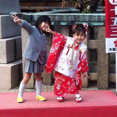 Kimono kids #pupuru #japantravel #rentalwifi #japan #osaka