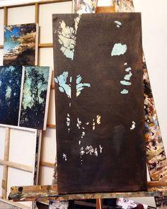My art studio full of paintings in progress. My Art Studio, Painting Process, My Arts, Paintings, Paint, Painting Art, Painting, Painted Canvas, Drawings