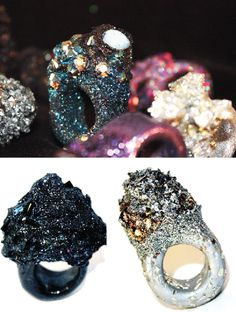 I need these too.  I think I could make some with these crystals I have, some resin, and some tourmaline glitter.  #DIY in the future