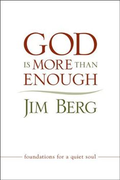 God is More than Enough by Jim Berg, http://www.amazon.com/dp/B005UDF4GW/ref=cm_sw_r_pi_dp_cSwEsb044J8MS