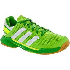 new concept a282b 3d23f adidas adipower Stabil 10.1 Lady Ray GreenWhiteReal Green at  HolabirdSports.com · Squash ShoesHandballGreen ...