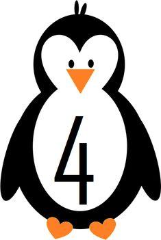 ΜΑΘΗΜΑΤΙΚΑ & ΓΛΩΣΣΑ ΜΕ ΠΙΓΚΟΥΙΝΟΥΣ Numbers Preschool, Math Numbers, Kindergarten Learning, Kindergarten Worksheets, Art Bulletin Boards, Polo Norte, Sensory Wall, Tiger Crafts, Polar Animals
