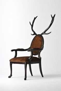 Antler chair.