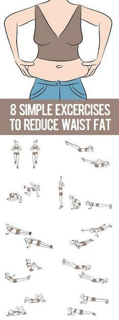 8 Most Effective Waist Slimming Exercises
