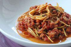 Zucchini Turkey Bolognese
