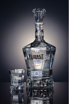 Packaging of the World: Creative Package Design Archive and Gallery: Kurant Vodka mxm