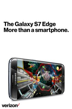 The Samsung Galaxy S7 proves that less can actually be more. The big screen on an incredibly slim design keeps you fully engaged in movies, games and more. Get yours today on Verizon.