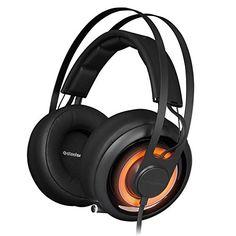 SteelSeries Siberia Elite Prism Gaming Headset-Jet Black