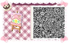 Animal Crossing QR Codes - Flag/Sign