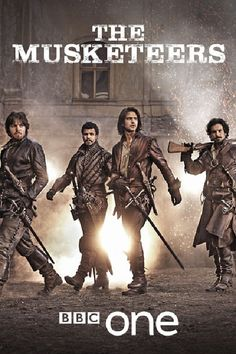 Pictures & Photos from The Musketeers (TV Series ) Photos with Tom Burke, Santiago Cabrera, Luke Pasqualino, Howard Charles. Love the opening music of this show! The Musketeers Season 1, The Musketeers Tv Series, Bbc Musketeers, The Three Musketeers, Tom Burke, Luke Pasqualino, Milady De Winter, Nerd, Bbc Tv