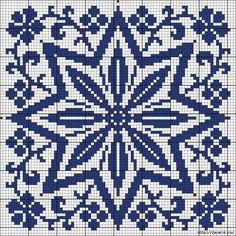 More square tiles - Chart for cross stitch or filet crochet. Biscornu Cross Stitch, Cross Stitch Charts, Cross Stitch Designs, Cross Stitch Embroidery, Cross Stitch Patterns, Embroidery Patterns, Crochet Chart, Filet Crochet, Crochet C2c Pattern
