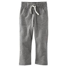 OshKosh Bgosh Baby Boy French Terry Knit Pants 6 Months Grey -- You can find out more details at the link of the image.