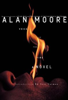 Voice of the Fire by Alan Moore. In a story full of lust, madness, and ecstasy, we meet twelve distinctive characters that lived in the same region of central England over the span of six thousand years. Their narratives are woven together in patterns of recurring events, strange traditions, and uncanny visions.