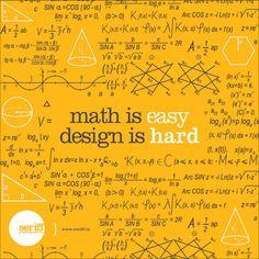 #design #Maths #Easy #hard #simple #fractions #designwisdom #seriff #graphicdesign