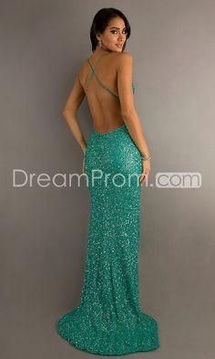 US $199.99 2015 Sexy Floor-length V-Neck A-Line Sequins Prom Dresses