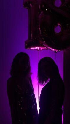 Purple aesthetic birthday